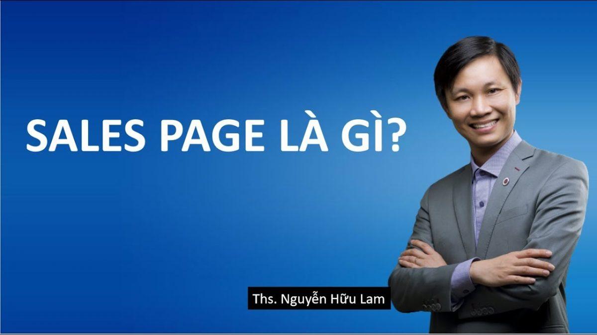 Landing Page (Phần 3) _ Tạo Landing Page bán hàng với Sales Page