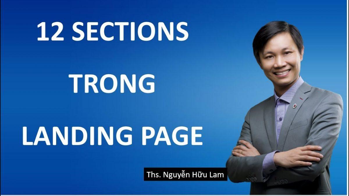 Landing Page ( Phần 4) – Ý nghĩa 12 sections sử dụng trong Landing Page