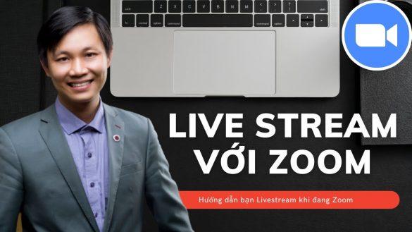 livestream zoom trên Youtube và Facebook